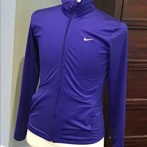 Nike Dri-Fit full zip running jacket. Like New M